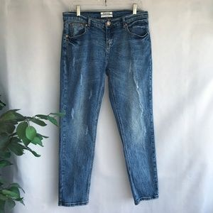 One Teaspoon Awesome Baggies Jeans Distressed 29